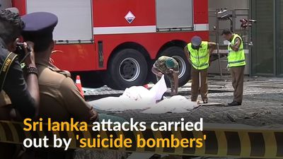 Sri Lanka says attacks carried out by suicide bombers
