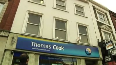 Thomas Cook shares rise on report of possible takeover