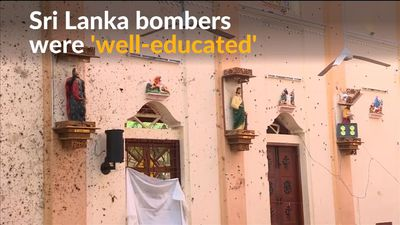 Details about Sri Lanka's 'well-educated' bombers emerge