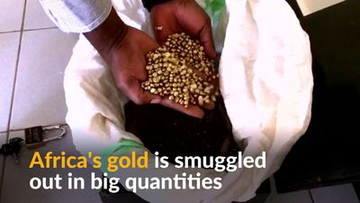 Following Africa's gold smugglers to Dubai