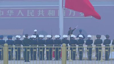 China evokes patriotism, past wars amid trade tension