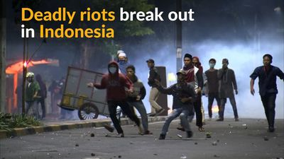 Indonesia's post-election riots turn deadly