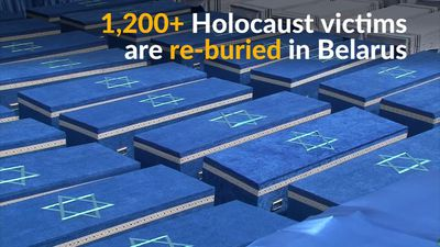 Belarus reburies over 1,200 Jews
