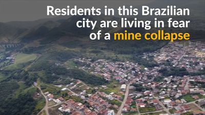 Mine collapse threatens entire city in Brazil