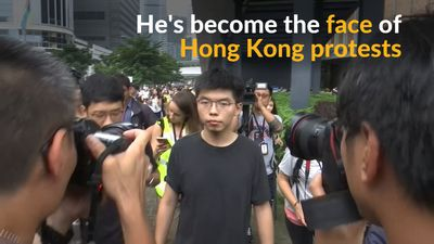 Freed Hong Kong activist joins calls for leader to quit