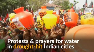 Water crisis sparks protests in India