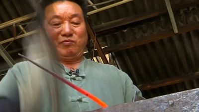 Blacksmith revives his trade with the internet