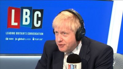Boris Johnson warns EU against 'Napoleonic' tariffs
