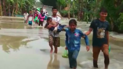 Floods in South Asia claim over 100 lives