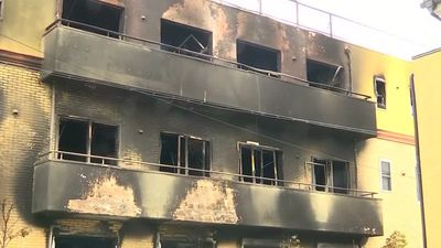 Japan mourns victims of suspected arson attack