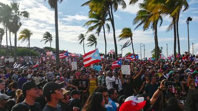 Tensions rise as Puerto Rico protests continue