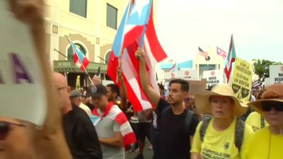 'We are outraged': Protests roil Puerto Rico