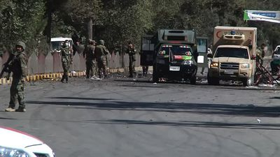 Taliban attacks kill 48, Afghan leader unhurt as bomber targets rally
