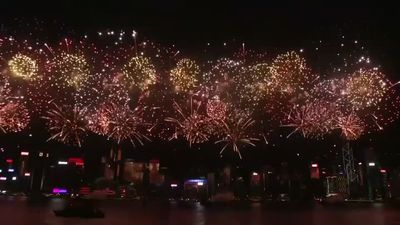 Hong Kong fireworks, horse races abandoned amid protest threat