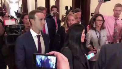 Zuckerberg looks for friends on The Hill