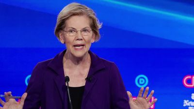 Dem hopefuls target Warren in latest debate