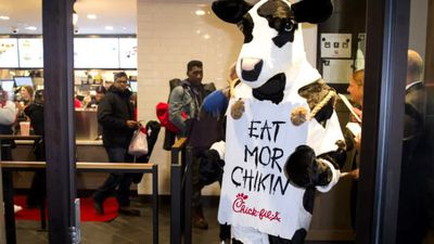 Chick-fil-A cancels only UK shop after backlash