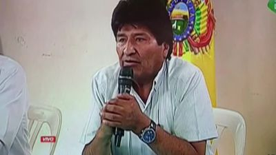 Bolivia's Morales resigns as president