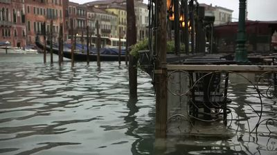 Venice mayor declares disaster as city hit by second worst high tide