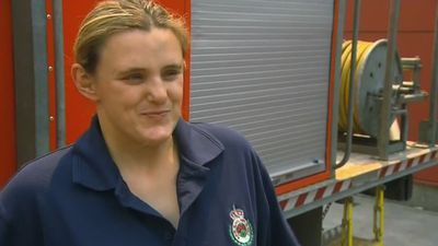 The pregnant firefighter tackling Australia's ferocious bushfires