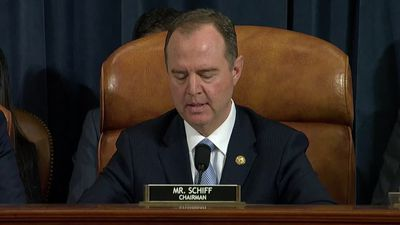 """Must we simply 'get over it?'"" - Schiff opens impeachment hearings"