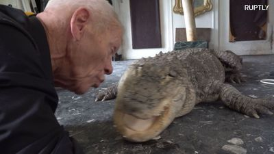 French man transforms village home into reptile zoo