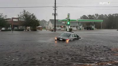 'Worst is yet to come' - Storm Florence weakens but floods still threaten East Coast