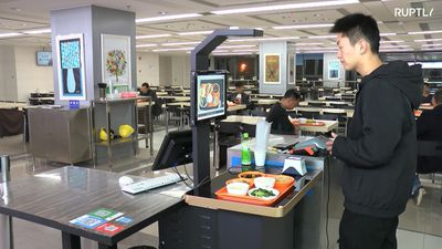 Calorie counting checkouts save diners time in Shanghai