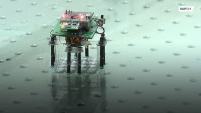 Chinese scientists create Terminator-inspired miniature liquid metal robot