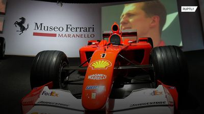 'Michael 50' exhibition opens onSchumacher's 50th birthday
