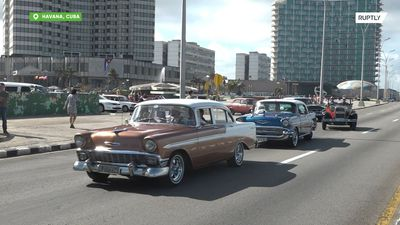 Cuba: Vintage autos glide through Havana as Classic Car Contest hits town