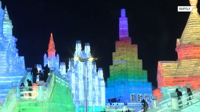 Harbin ice contest turns city into magic icy kingdom