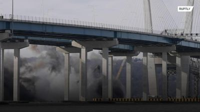 Tappan Zee Bridge demolished in big bang