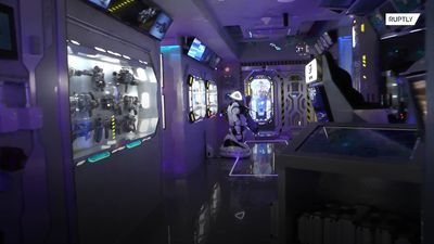 Ground control to Major Tom: Inside Crimea's spaceship hotel