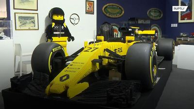 Renault F1 car made of LEGO goes under the hammer