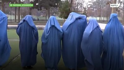 Afghan women fight for their right to train outdoors