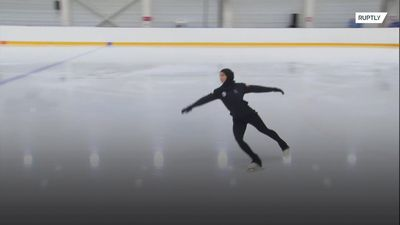Meet Zahra Lari, the first figure skater to compete wearing a hijab