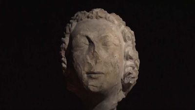 Notre Dame sculptures showcased in Turin