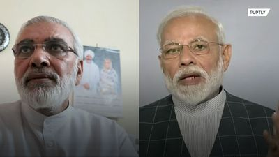 Modi's lookalike? Meet the man being mistaken for the Indian PM