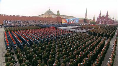 Spectacular parade on Red Square marks 74th Victory Day