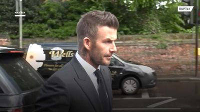 David Beckham gets banned from driving