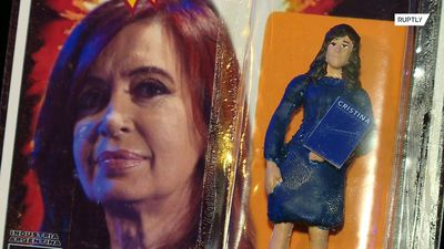 Cristina Kirchner's fans excited as her new action doll hits market