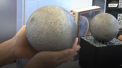 San Fran startup shows off new 3D printed moon
