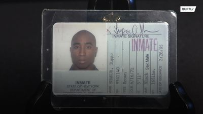 Tupac's prison ID goes under the hammer