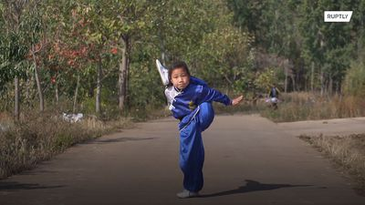 Nine y/o conquers social media with her kung fu skills