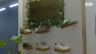 Going bananas! These eco-friendly shoes made from banana fibre won't cost the earth