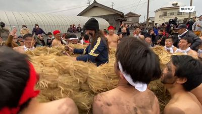 Hundreds flock to mysterious festival in Goto Islands for good fortune