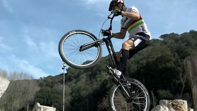 Death-defying trial biking champ survives WWI bomb scare