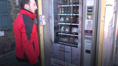 German butchery's meat vending machine allows for 'contactless' shopping