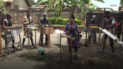 Coronavirus locks DRC 'garbage' band in music studio